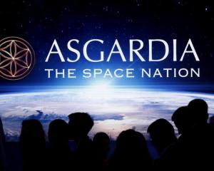 Inauguration ceremony of Asgardia's first Head of Nation in Vienna. Photo: Reuters