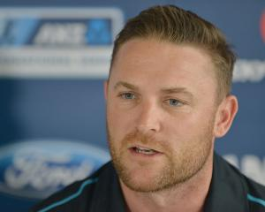 Brendon McCullum. Photo: Getty Images