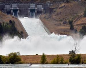 The Benmore dam. Photo: ODT files