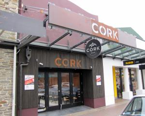 Cork Bar in Helwick St, Wanaka. PHOTO: MARK PRICE