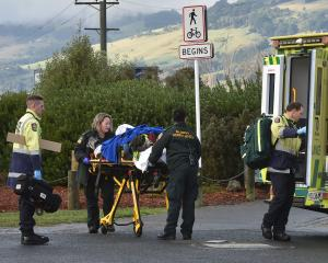 A Fire and Emergency New Zealand spokesman said they were required to cut a brake cable on the...