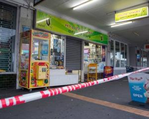 The Hylite Dairy in Grey Lynn this morning. Photo: NZ Herald