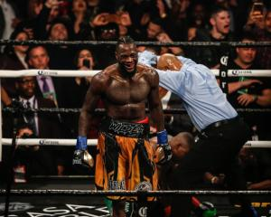 Deontay Wilder will fight Anthony Joshua in a heavyweight title unification bout later this year....