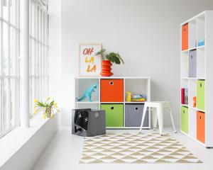 Cube units offer perfect storage for many situations.