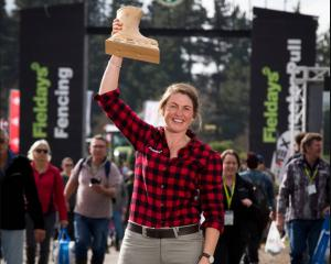 Rural Catch winner Mairi Whittle, the first woman to be crowned New Zealand's most eligible...