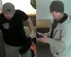 Men of interest following assault in QT. Photo: NZ police