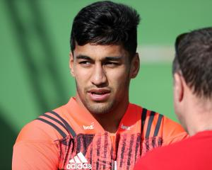 Rieko Ioane is the second young All Black to find himself in hot water this weekend. Photo: Getty...