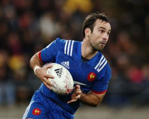 Halfback Morgan Parra will captain France against the All Blacks in Dunedin. Photo: Getty