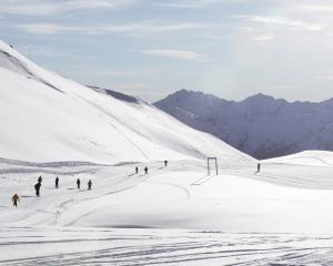 Treble Cone opened five days early on Saturday with plenty of snow, and more forecast. Photo:...