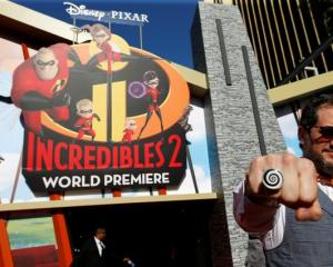Incredibles 2 premiere. Photo: Reuters