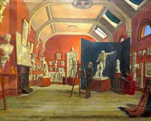 Art Room, Dunedin School of Art, by James Kilgour