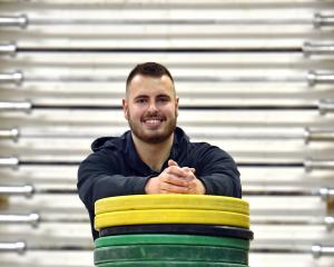 Josh Homersham is preparing to head to New Caledonia for his second Oceania weightlifting...