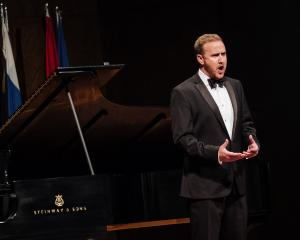 Former Dunedin opera singer Julien Van Mellaerts performs at the prestigious Concours Musical...