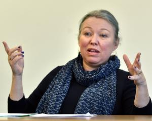 Dunedin City Council acting general manager for infrastructure and networks Leanne Mash yesterday...