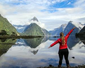 The Milford Track is hugely popular, attracting thousands of trampers every year. Photo: Doc