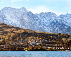 Queenstown is second only to Auckland for capital gains; (pictured) the Remarkables soar over ...
