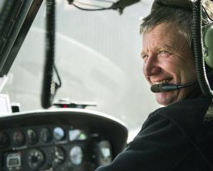 North Otago helicopter pilot John Oakes. PHOTO: ANTHONY MCKEE