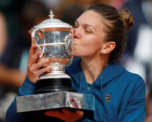Simona Halep could finally replace the bitter memories of her first three Grand Slam finals with...