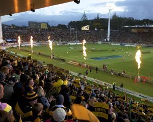 Yarrow Stadium. Photo: Taranaki Regional Council