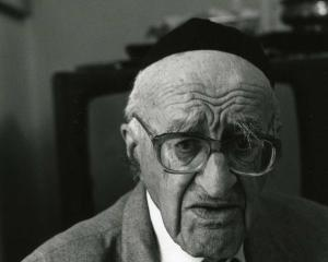 Yeshayahu Leibowitz. PHOTO: WIKIMEDIA COMMONS