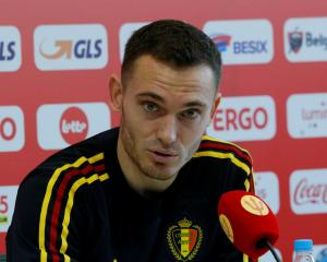 Belgium's Thomas Vermaelen. Photo: Reuters
