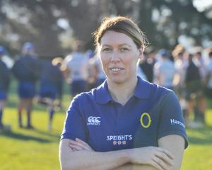 New Otago Mitre 10 Cup physiotherapist Anne Wilson at Peter Johnstone Park this week. Photo:...