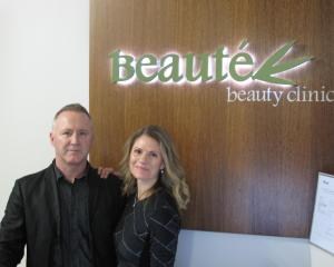Clayton Ellis and Franca Vallinoti are now the full owners of Beauté Beauty Clinic.