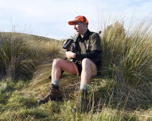 Benjamin Wardhaugh took up hunting last year and has since got his father doing it as well. Photo...