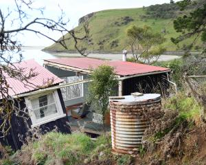 The cottage at Cape Saunders has not been able to be salvaged, and is expected to be demolished...