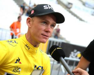 Chris Froome. Photo: Getty Images