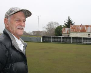 "Stirling Bowling Club president Bruce Gold is ""heartbroken'' the club is to shut its doors. Photo..."