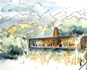 Concept designs for the accommodation complex at Fiordland National Park. Photo: Supplied/Path...