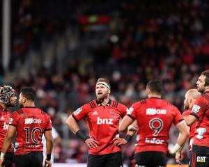 The Crusaders beat the Sharks on Saturday to make the Super Rugby semifinals. Photo: Getty