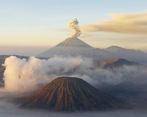 Indonesia, Java island, Bromo (2392m) and Semeru (3676m) volcanoes. Photo: Getty Images
