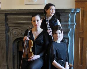 The Klara Kollektiv (from left) Manu Berkeljon, Anna McGregor and Taru Kurki aims to get New...