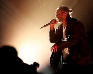 Recording artist Kendrick Lamar attends the 60th Annual Grammy Awards in New York. Photo: Getty...