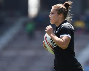 New Zealand ran in 16 tries in the two games with Michaela Blyde managing a double and a hat...