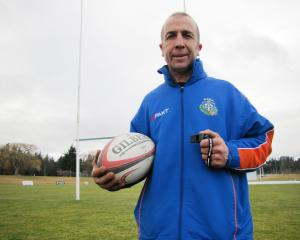 Alexandra referee Gary Smith has an uncertain wait before he officiates in his 200th rugby match....
