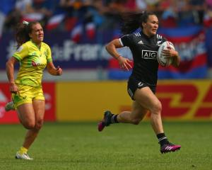 Portia Woodman believes things will only get better from here for the Black Ferns Sevens. Photo:...