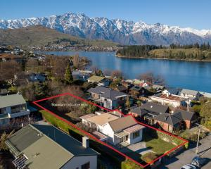 A standalone cottage on Brisbane St, Queenstown, sold at auction for $3million last week.   PHOTO...