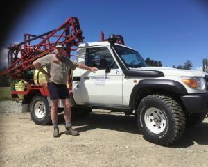 Centre Bush contractor David Kean is the new president of Rural Contractors New Zealand. Photo:...