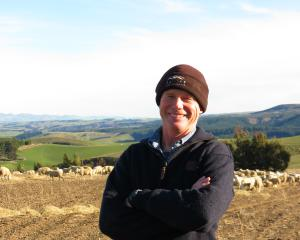 Organic sheep and beef farmer Allan Richardson, of Heriot, said his organically-farmed in-lamb...