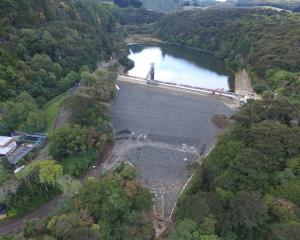 Dunedin City Council is seeking submissions for the Ross Creek Reservoir refurbishment. Photo:...