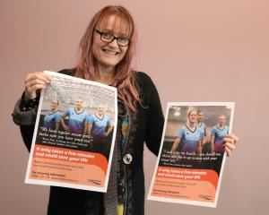 Sue Smith, Southern DHB Cervical Screening Advisor, shares the message from our own Southern Steel!