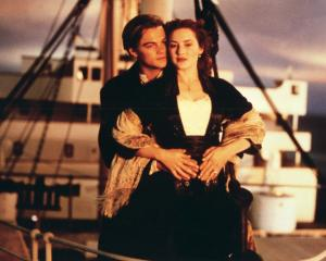Leonardo DiCaprio and Kate Winslet in Titanic. Photo: Supplied