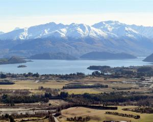 Housing values across Central Otago (pictured, Wanaka this week), Dunedin and Queenstown are...