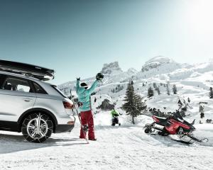 Thule products, including its roof boxes, and Konig chains will make travelling to the snow easier.