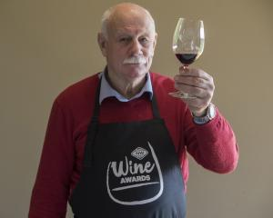 New World Wine Awards chairman of judges Jim Harre. Photo: The New Zealand Herald
