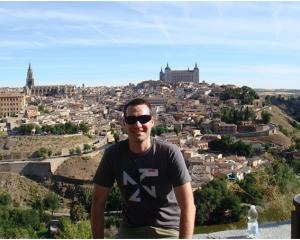 Alexandra House of Travel's Aaron Dyson on tour in Toledo, Spain. Photos: Supplied.