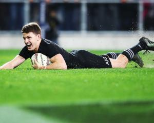 All Blacks first five-eighth Beauden Barrett. Photo: Getty Images